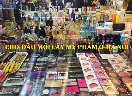 Top 3 chợ đầu mối mỹ phẩm Hà Nội chất lượng giá rẻ