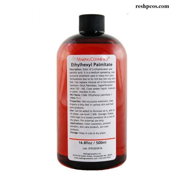 Ethylhexyl palmitate là gì, có tác dụng gì trong mỹ phẩm