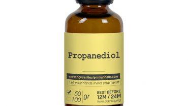 Propanediol là chất gì? Có công dụng gì trong mỹ phẩm?