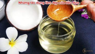 Công thức và Cách làm mỹ phẩm từ dầu dừa tại nhà