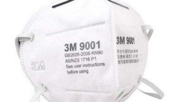 Khẩu trang 3M 9001v, 9501vt dùng được bao lâu, giặt có ngừa Virus Corona không?