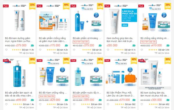 Top 10 shop bán mỹ phẩm uy tín trên Shopee